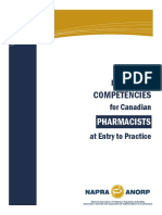 Comp for Cdn Pharmacists at Entrytopractice March2014 b