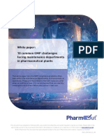 White Paper 10 Problems With Pharma Plant Maintenance