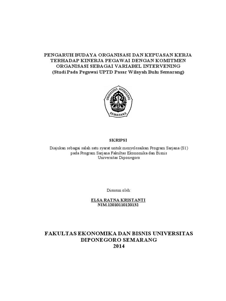02 Kristanti Skripsi Variabel Intervening Komitmen Organisasi