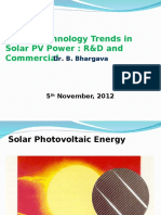 presentation on solar R and D and marketing