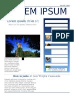 Simple Newsletter