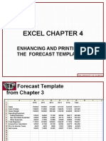 Excel 2010 Chap04 PowerPoint Slides for Class