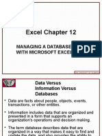 Excel 2010 Chap12 PowerPoint Slides for Class