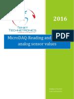 MicroDAQ-Reading and Plotting Analog Sensor Values