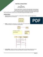 Brief Notes on Design Pattern