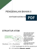Struktur Atom Dan Kristal