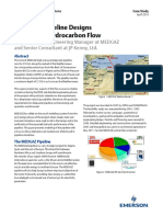 Advanced Pipeline Designs to Increase Hydrocarbon Flow Data