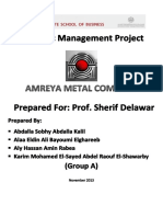 Ameria Metal Staregy Plan