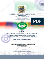 especificacion tecnica de un hospital