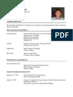 Rodel Catajay Comprehensive Resume'