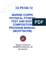 US Marine Corps - Physical Fitness Test and Body Composition Program Manual