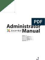 Joomla Administrator Manual vi