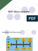 8051 microcontrollerV sreelaxmi