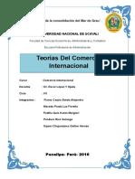 Trabajo de Teorias Del Comercio Internacional