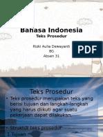 Teks prosedur 1
