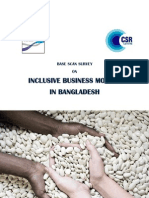 Report on the Base Scan Survey on Inclusive Business in Bangladesh (1)