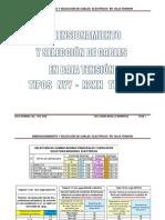 12 Dimensionamiento y Seleccion de Cables Electricos Mayo 2014