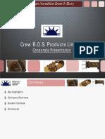 CrewBOS - Corporate Presentation 2012