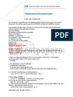 Robert Bosch Placement Paper 1 1