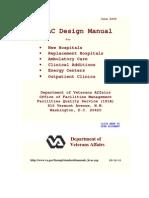 HVAC Design Manual for Hospitals