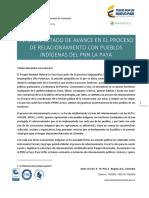 Relacionamiento con Pueblos Indígenas en el PNN La Paya