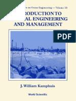 Kamphuis Introduction to Coastal Engineering and Mangaement