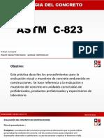 ASTM -C823-Evaluación Del Concreto