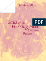 (Theater_ Theory_Text_Performance) Herbert Blau-Sails of the Herring Fleet_ Essays on Beckett-University of Michigan Press (2003)