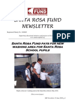 Santa Rosa Fund Newsletter Issue 35