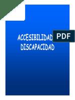 Discapacidad y Accesibilidad