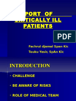 Transport of Critically Ill Patient