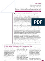 Policy Brief on ICTs in School Education From IT for Change August 2009
