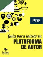 Guia Para Iniciar Tu Plataforma de Autor Bubok