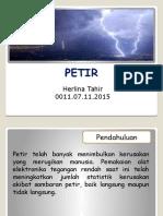 Presentasi Petir
