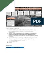 Primera Entrega Sector Cemento