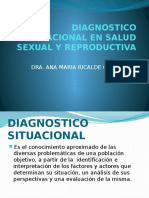Diagnostico Situacional en Salud Sexual y Reproductiva