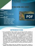 Diapositiva Final Codificación de Vias