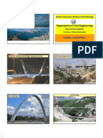 CE 431 Chapter 5 Cables Arches and Bridges