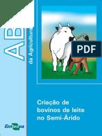 ABC-criaçao de Bovinos de Leite No Semi Arido