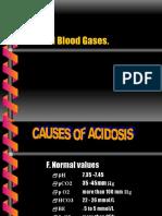 Blood Gases Slide