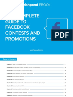 The Complete Guide to Facebook Contests and Promotions