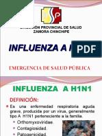 Información a h1n1-m