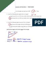 geometry unit test part 1 study guide key