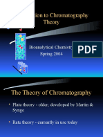 Chm 1222 Chromatography Theory