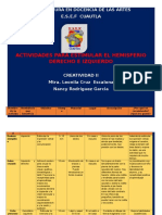 Nancy Rodriguez Garcia 2b Actividades Desarrollo Hemisferios