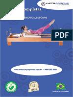 Pilates Catalogo Equipamentos