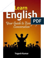 Learn English Your Guide to Everyday Conversation