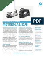Motorola Li4278 Wireless Barcode Scanner