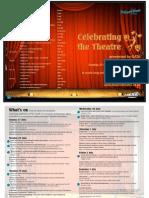 Celebrating the Theatre Brochure