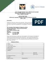 2011 LAP Application Form